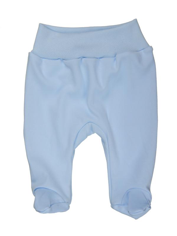 Polodupačky (jednofarebné) - modré - Veľkost: 80