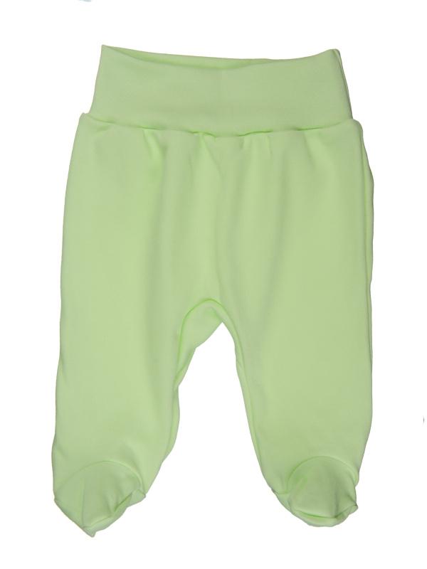 Polodupačky (jednofarebné) - zelené - Veľkost: 80