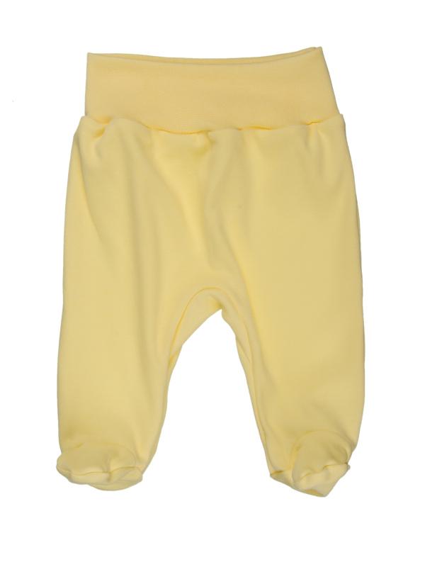 Polodupačky (jednofarebné) - žlté - Veľkost: 80