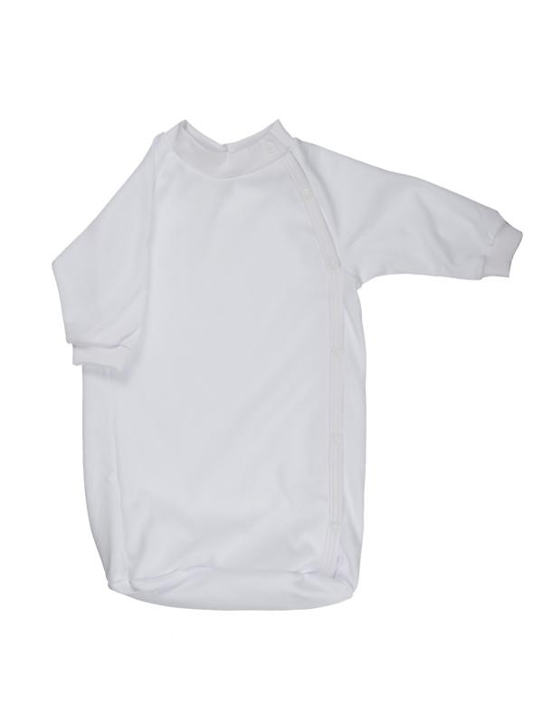 Bavlnený spací vak (jednofarebný) - biely - Veľkost: 56