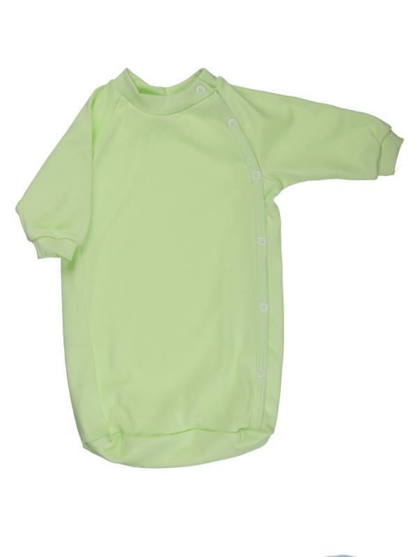 Bavlnený spací vak (jednofarebný) - zelený - Veľkost: 56