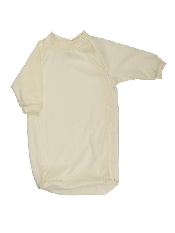 Bavlnený spací vak (jednofarebný) - smotanový - Veľkost: 56