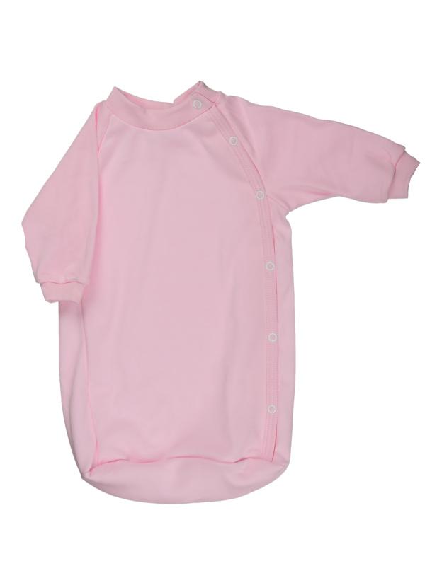 Bavlnený spací vak (jednofarebný) - ružový - Veľkost: 56