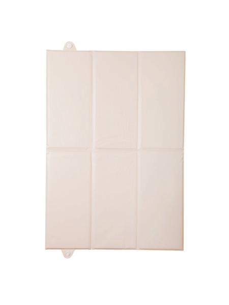 Prebaľovacia podložka - smotanová - Rozmer: 40x58 cm