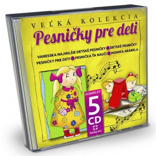 5CD - Pesničky pre deti - CD: CD