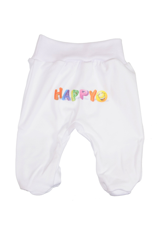 Polodupačky (biele) - HAPPY - Veľkost: 80