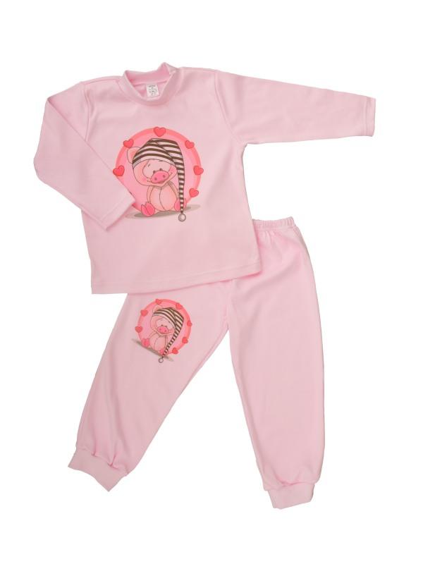 Pyžamo - Prasiatko - ružové - Veľkost: 86