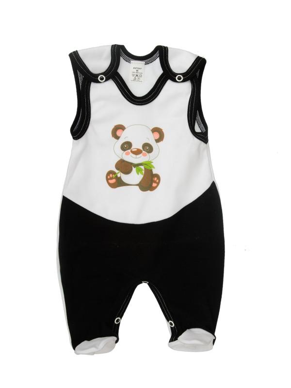 Dupačky (bielo-čierne) - Panda - Veľkost: 74