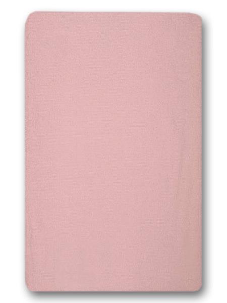 Nepremokavé prestieradlo (ružové) - 155g (4 gumy) - prestieradlá: 120x60