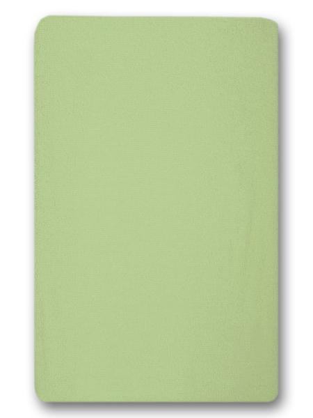 Nepremokavé prestieradlo (zelené) - 155g (4 gumy) - prestieradlá: 120x60