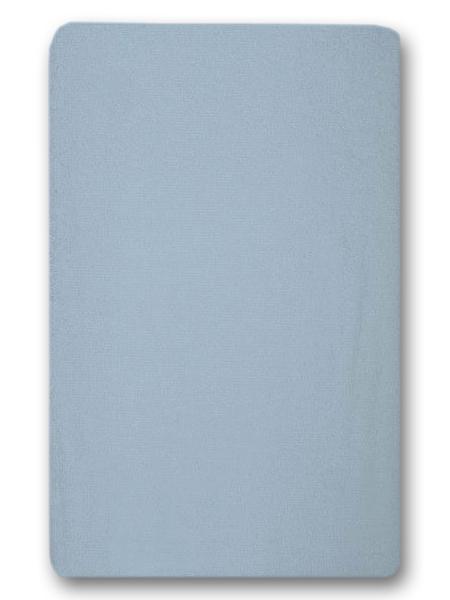 Nepremokavé prestieradlo (modré) - 155g (gumené obšitie) - prestieradlá: 120x60