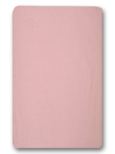 Nepremokavé prestieradlo (ružové) - 155g (gumené obšitie) - prestieradlá: 120x60