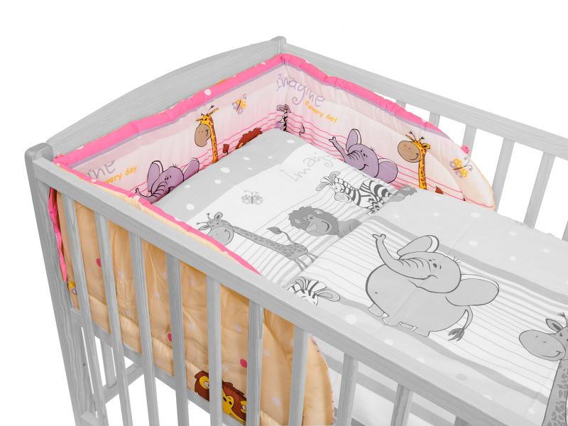 Mantinel (ružový) - ZOO - Veľkost: 175 cm x 30 cm