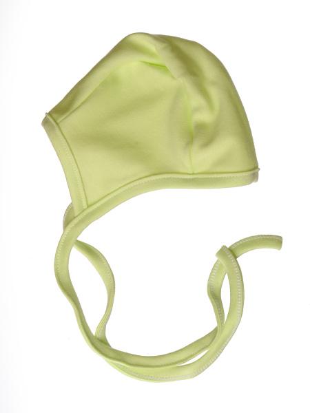 Kojenecká čiapočka (zelená) - Veľkost: 56
