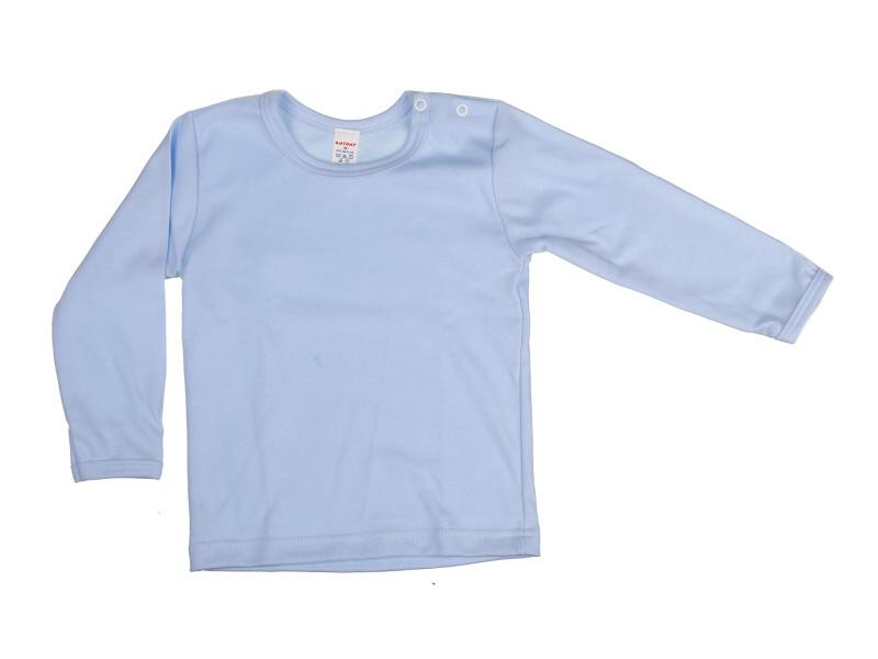 Nátelník jednofarebný (modrý) - Veľkost: 92