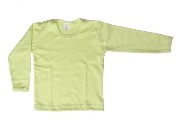 Nátelník jednofarebný (zelený) - Veľkost: 92
