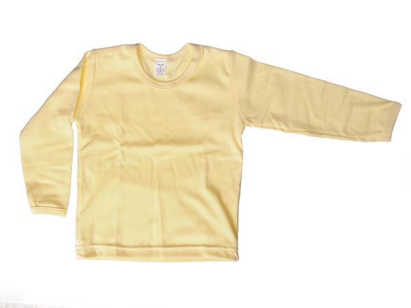 Nátelník jednofarebný (žltý) - Veľkost: 92
