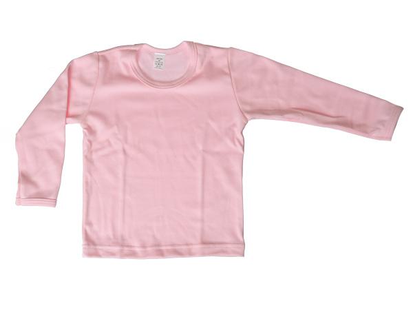 Nátelník jednofarebný (ružový) - Veľkost: 92