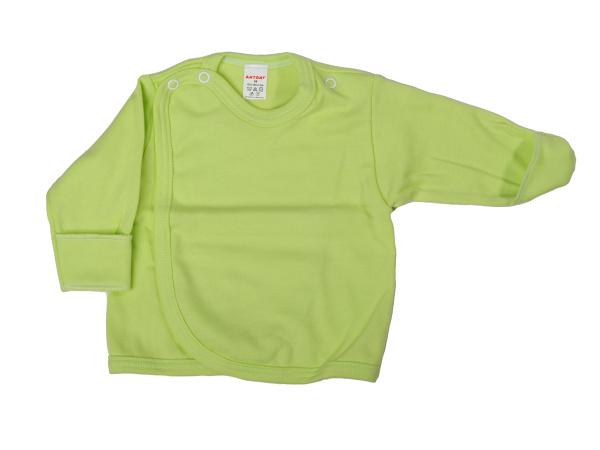 Prekladací kabátik s rukavičkou (zelený) - Veľkost: 62