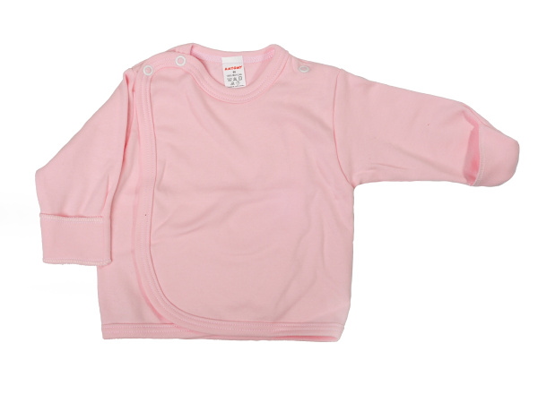 Prekladací kabátik s rukavičkou (ružový) - Veľkost: 62