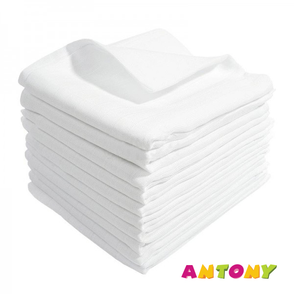 Bavlnená plienka LUX - 10ks balenie - Rozmer: 70x80 (cm)
