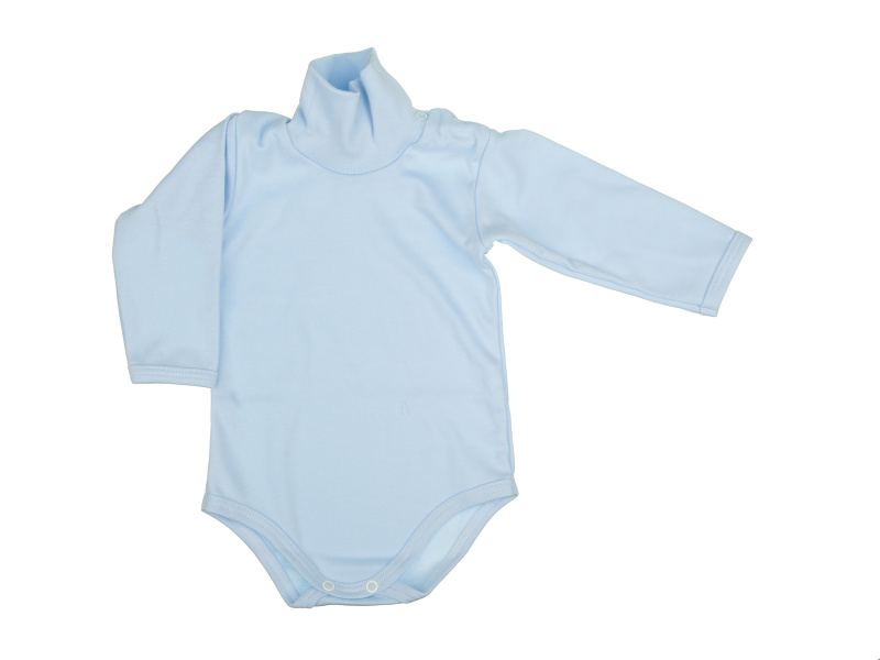 Rolákové body - modré - Veľkost: 68