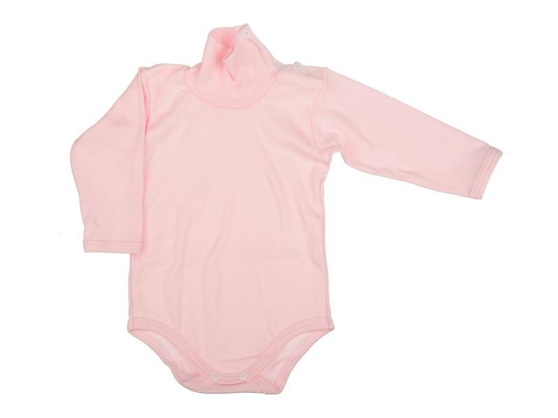 Rolákové body - ružové - Veľkost: 68