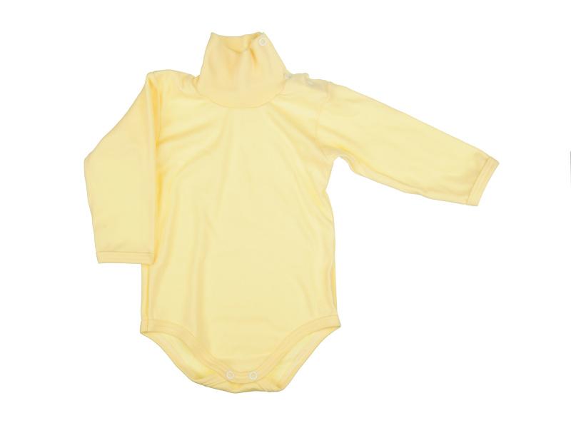 Rolákové body - žlté - Veľkost: 62