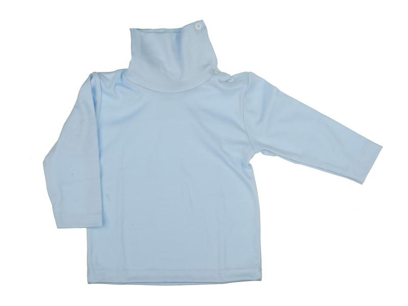 Rolák bavlnený - modrý - Veľkost: 128