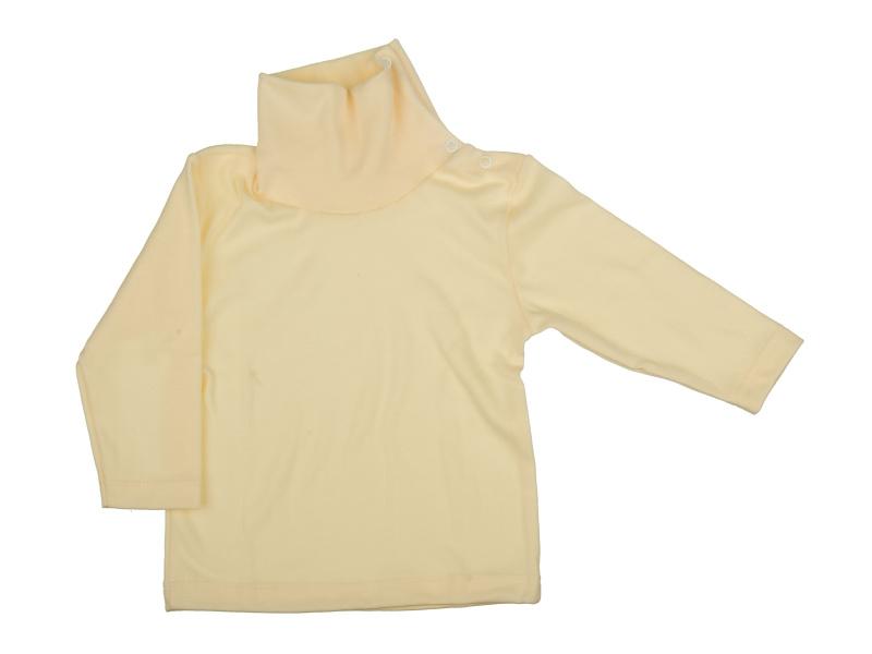 Rolák bavlnený - smotanový - Veľkost: 128