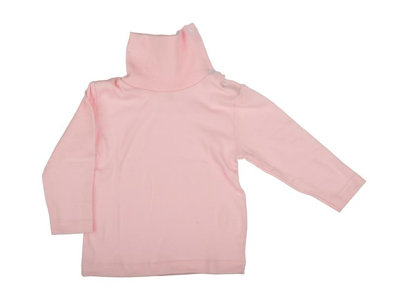 Rolák bavlnený - ružový - Veľkost: 128