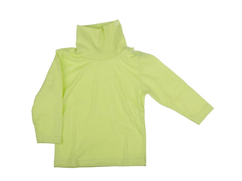Rolák bavlnený - zelený - Veľkost: 86
