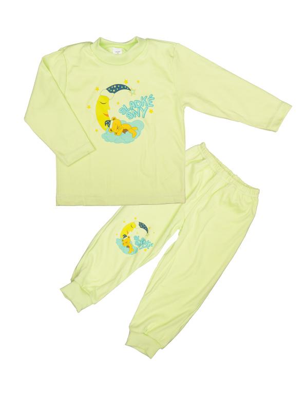 Pyžamo Macko na mesiaci - zelené - Veľkost: 86