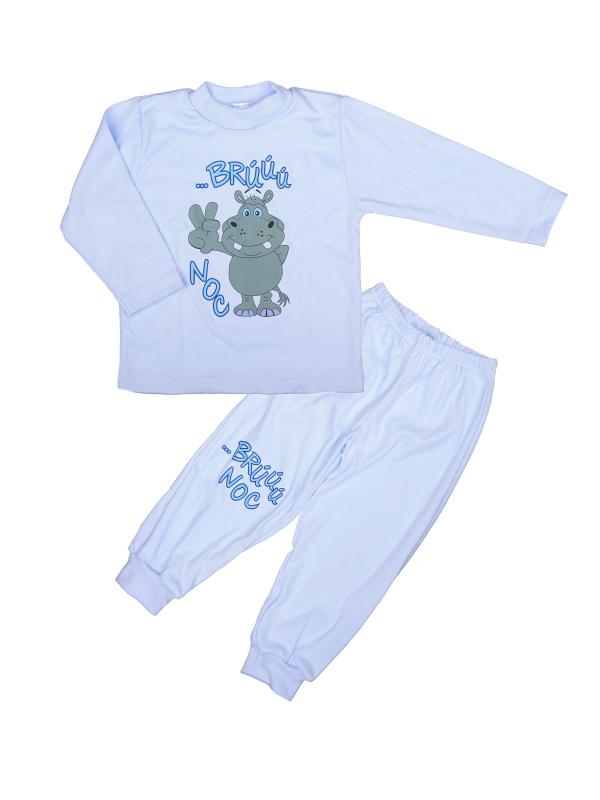 Pyžamo Hrošík - brúú noc - modré - Veľkost: 86
