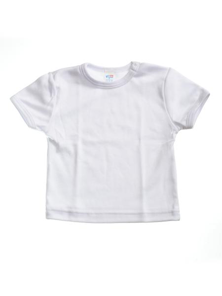 Tričko krátky rukáv - biele - Veľkost: 110