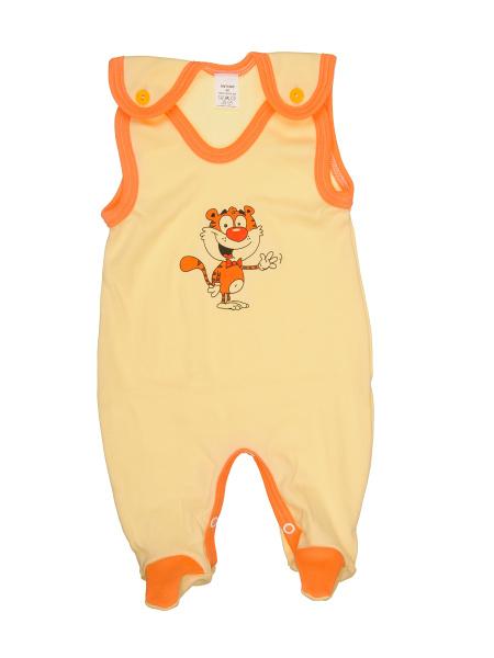 Dupačky - Tiger - žlté - Veľkost: 74
