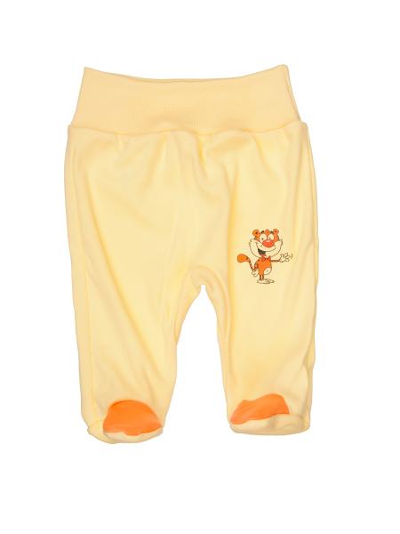 Polodupačky - Tiger - žlté - Veľkost: 62