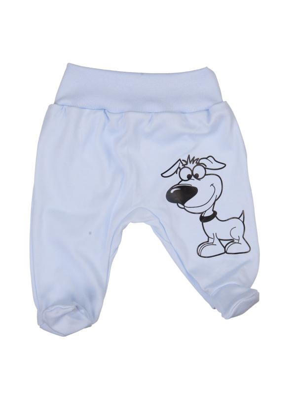 Polodupačky - Pes - modré - Veľkost: 80