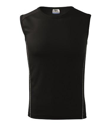 Tričko bez rukávov - Playtime (čierne) - Veľkost: 122